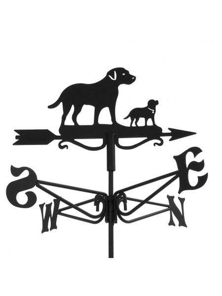 windwijzer labrador met puppy hond. Black Bedroom Furniture Sets. Home Design Ideas