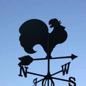 Windwijzer Haan incl. windroos en staaf L