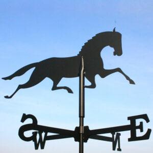 Windwijzer Paard incl. windroos en staaf M