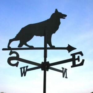 Windwijzer Hond incl. windroos en staaf M