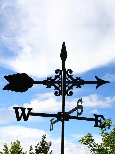 Windwijzer Pijl incl. windroos en staaf S