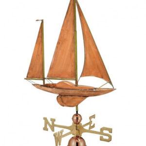 Windwijzers boot 3D-design windwijzer Zeilboot 2 master met 3 zeilen