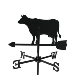 Windwijzer Koe incl. windroos en staaf S