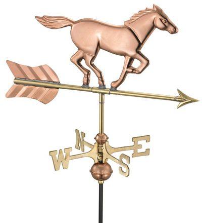 windwijzer Paard handgemaakt