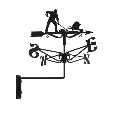 Windwijzer tuinman - Deco eetkamer rustiek ...