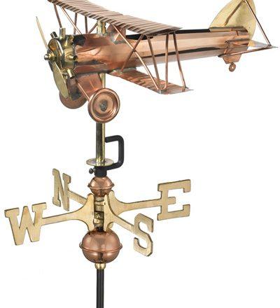 windwijzer Vliegtuig Dubbeldekker