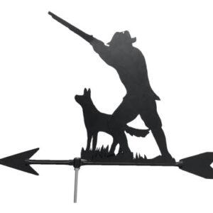 windwijzer Jager met Hond