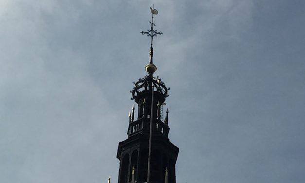 Windhaan op De Waag in Alkmaar