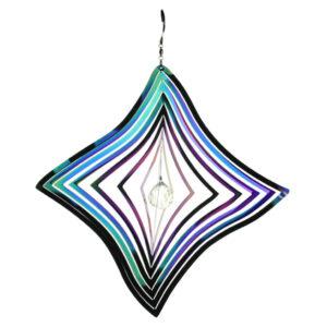 windspinner Diamant Regenboog RVS W85114