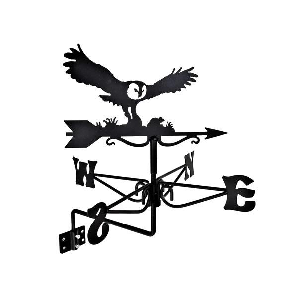 windwijzer Uil met veldmuis