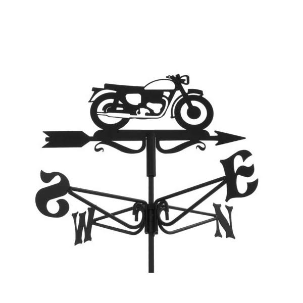 windwijzer vintage motorfiets